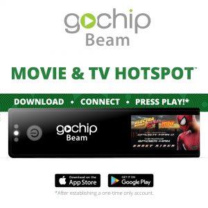 GoChip Beam Movie & TV Hotspot
