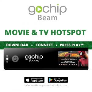 GoChip Beam Movie & TV Hotspot